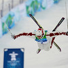 Alexandre Bilodeau of Canada during his moguls qualifications run at the Vancouver 2010 Olympics in Vancouver, British Columbia, Sunday, Feb. 14, 2010. (AP Photo/Jae C. Hong)