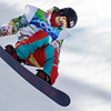 Ryo Aono of Japan compete in the men's halfpipe at the Vancouver 2010 Olympics in Vancouver, British Columbia, Wednesday, Feb. 17, 2010. (AP Photo/Odd Andersen)