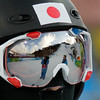 Kai Ozaki of Japan looks up the hill after his moguls qualifications run at the Vancouver 2010 Olympics in Vancouver, British Columbia, Sunday, Feb. 14, 2010. (AP Photo/Jae C. Hong)