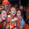 Netherlands Spain Soccer Wc.JPG Fans of the Dutch soccer team react at during the World Cup soccer final match between Netherlands and Spain in Amsterdam, Netherlands, Sunday, July 11, 2010.  Spain defeated the Dutch with a 1-0 score in extra time. (AP Photo/Cynthia Boll)