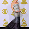 Pink is photographed backstage at the Grammy Awards on Sunday, Jan. 31, 2010, in Los Angeles.  (AP Photo/Mark J. Terrill)