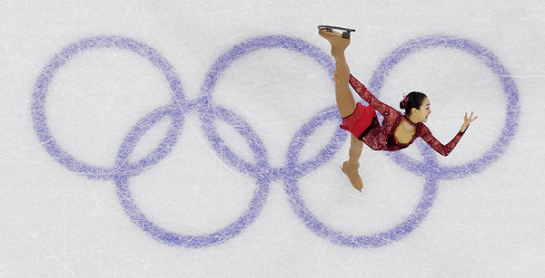 Japan's Mao Asada performs her short program during the women's figure skating competition at the Vancouver 2010 Olympics in Vancouver, British Columbia, Tuesday, Feb. 23, 2010. (AP Photo/David J. Phillip)