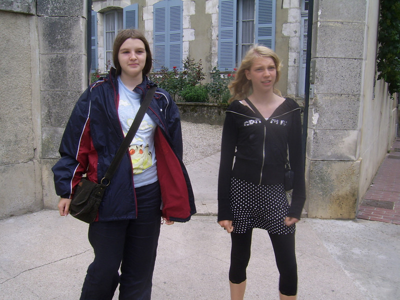 Rebecca and Nasher in Auxerre.<br /> The next 18 photos are from Auxerre, in case you're wondering!