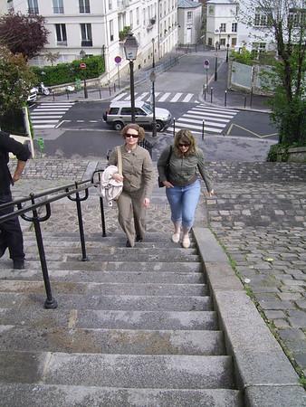 Paris with Aiga and Inguna - April 2008
