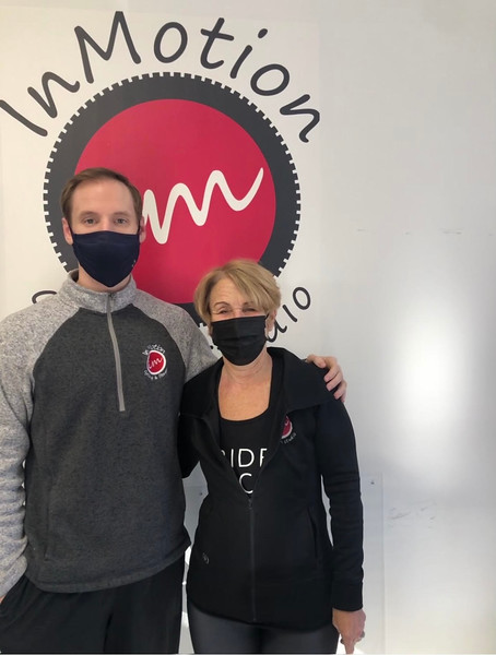 InMotion General Manager Jeff Lewis and owner Suzanne Lewis, both of Westford