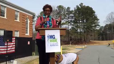 VIDEO: My Georgia MG Walk Hero Speech
