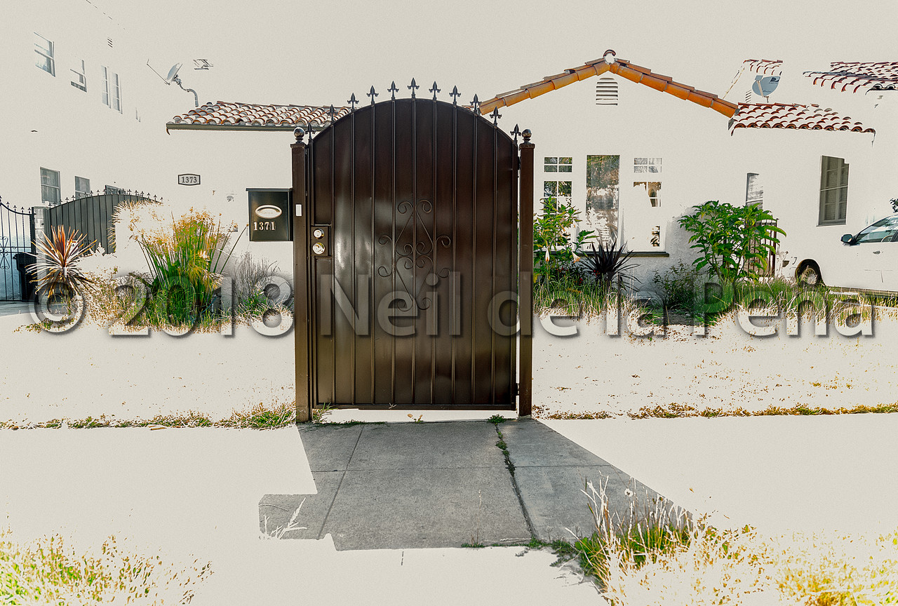 If You Can't Afford Both The Fence And Gate, Get The Gate. At Least You Can Lock It At Night