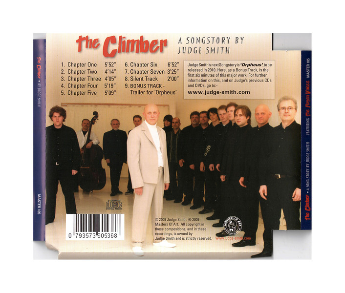 "Back cover of the Judge Smith CD ""The Climber"".<br /> <a href=""http://www.judge-smith.com/theclimber/"">http://www.judge-smith.com/theclimber/</a>"