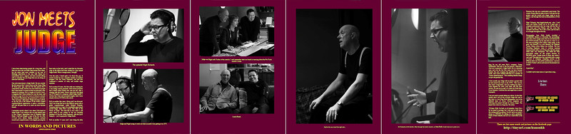 Studio Shots of Judge Smith and Nigel Rogers in Gonzo Magazine
