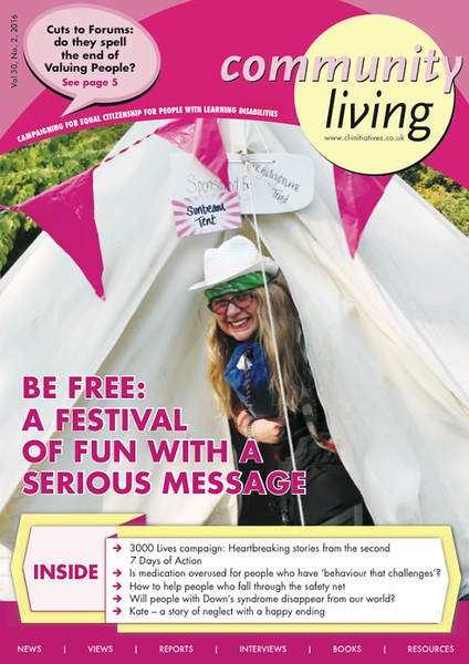 A front cover for Laura at Be Free Festival !