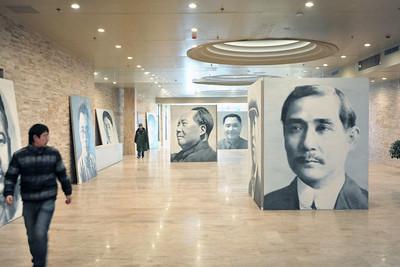 Xu Weixin exhibition, Longmen Museum