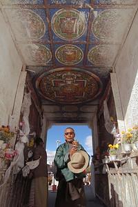 West Gate Chorten, Lhasa, Tibet Autonomous Region, 2010