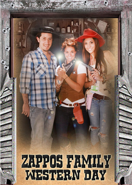 Zappos Family Western Day ©INAFLASHPHOTOS.com INTERACTIVE PHOTO EXPERIENCE™