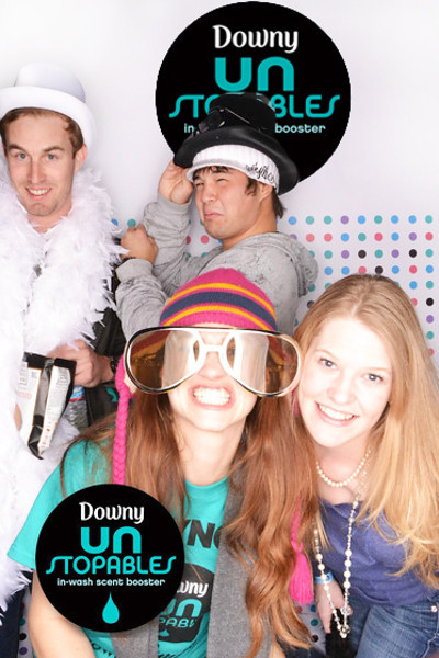 DOWNY® UNSTOPPABLES  ©IN-A-FLASH PHOTO BOOTHS INTERACTIVE PHOTO EXPERIENCE™