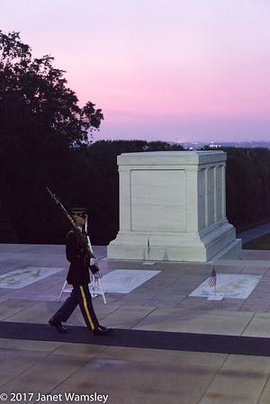 2017 Arlington Cemetery sunrise