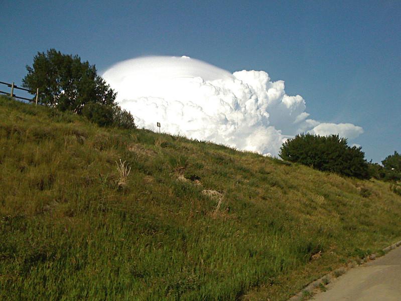 Super nube. Julio de 2009