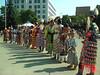 Julio de 2009. ültimos días en Calgary. Reunión de tribus de Norte-América en Olympic Plaza
