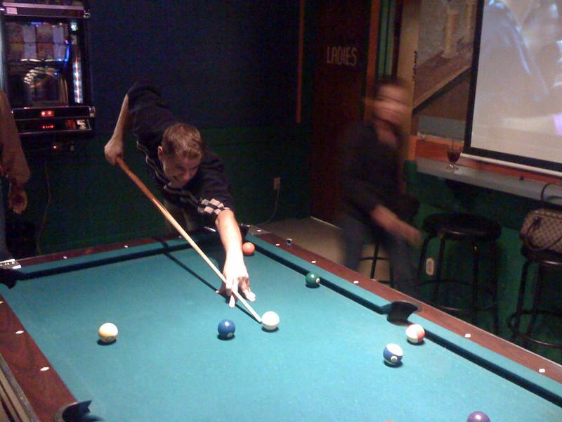 Fin de fiesta en Karaoke bar. Sept. 2008