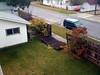 Un dia de viento en Calgary, desde la ventana de mi habitacion.