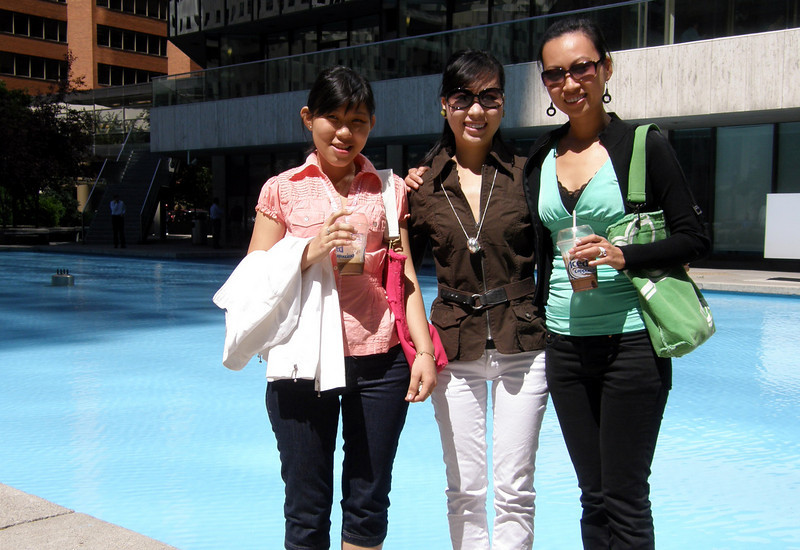 Vy, Thu and Anh