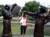 ESculturas en el parque olimpico