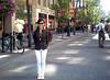 8th. avenue, en el centro de Calgary y peatonal a ciertas horas.
