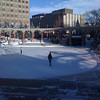 Dec. 31 2008, Calgary's Olympic Plaza