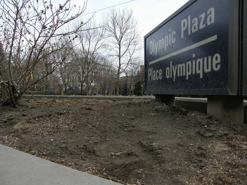 Casi se me olvida, Calgary ha sido ciudad olimpica! He aqui una foto de la gran Plaza Olimpica.