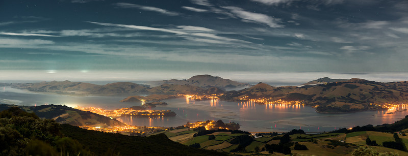 Otago Harbour from Mt Cargill