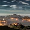 Otago Harbour from Mt Cargill