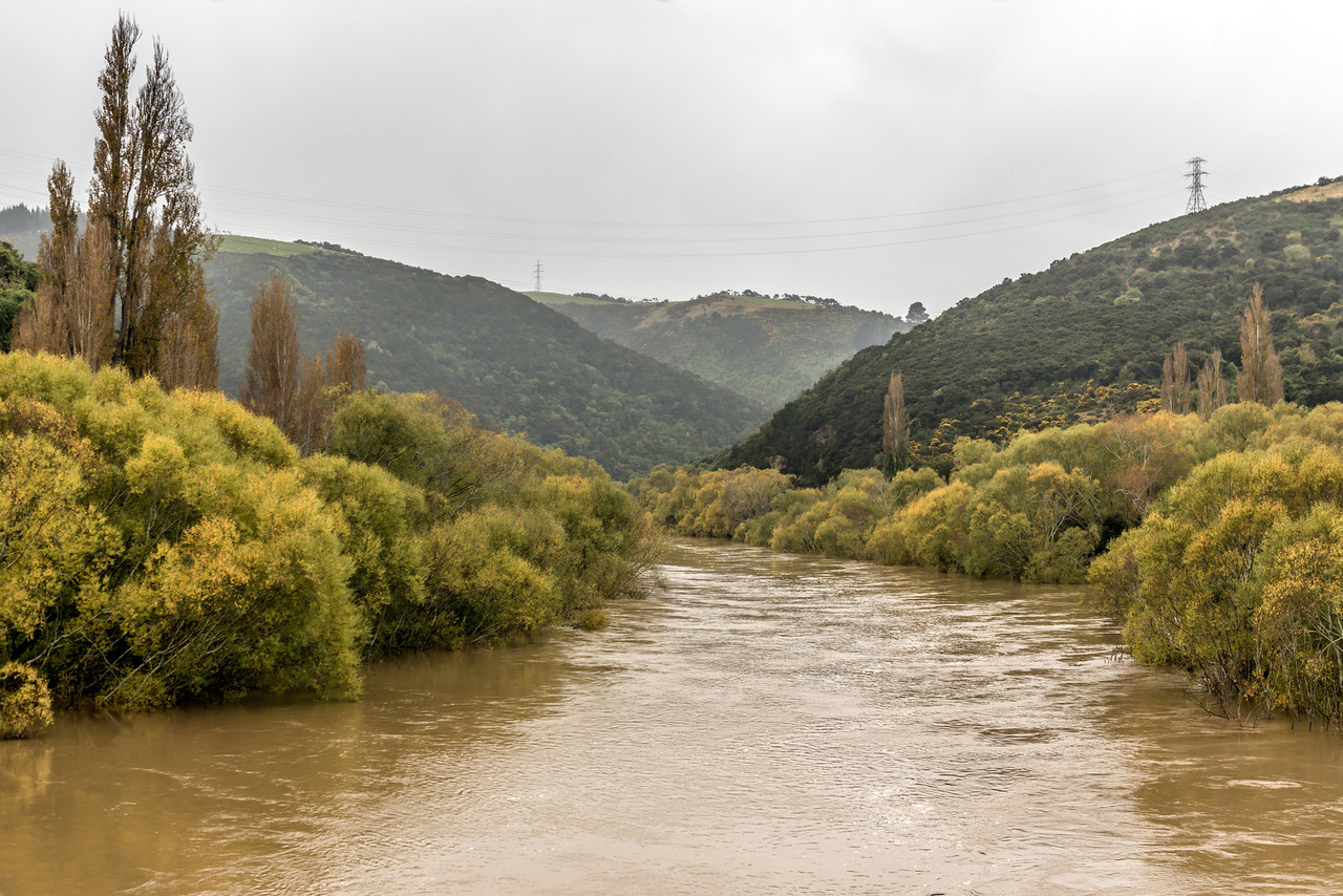 The Taieri River at Outram