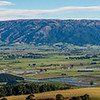 The Taieri Plains and the Maungatua Range from Scroggs Hill
