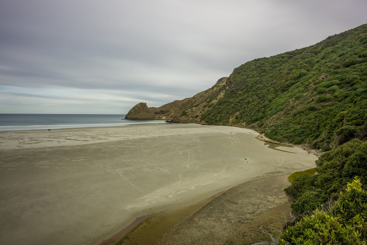 Hoopers Inlet is no longer connected to the sea