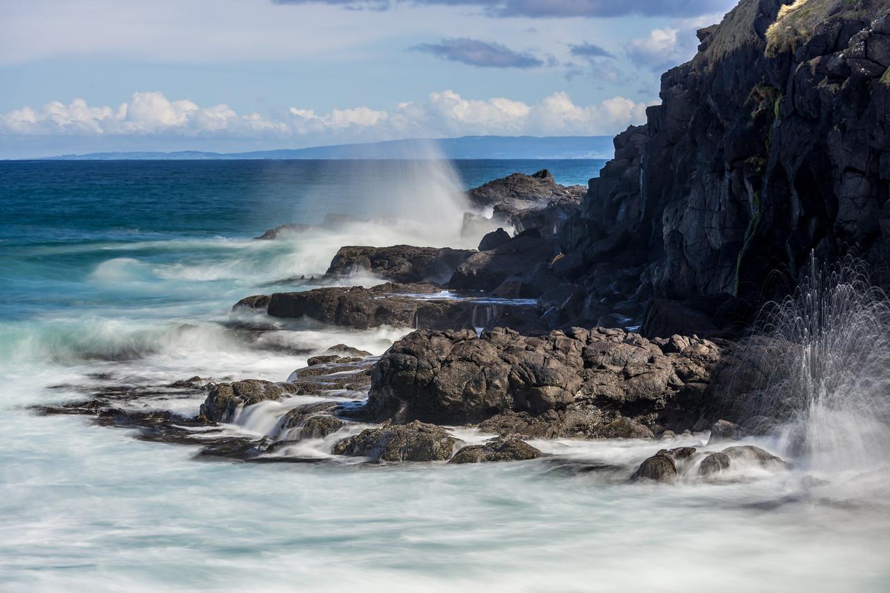 Waterfall Bay. Boulder Beach, Otago Peninsula.