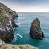 The coastline east of Lovers Leap