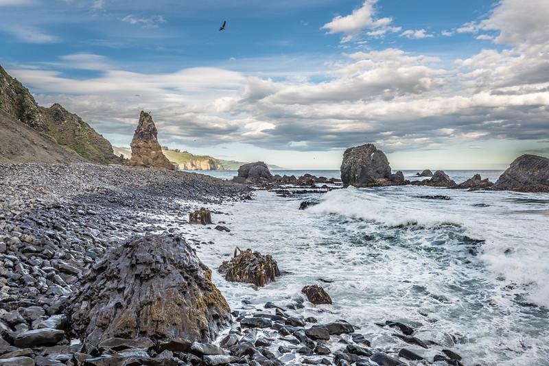 The Pinnacle, just east of Black Head