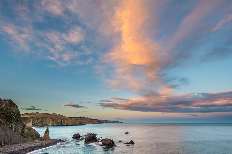 Coastline at Black Head, Dunedin