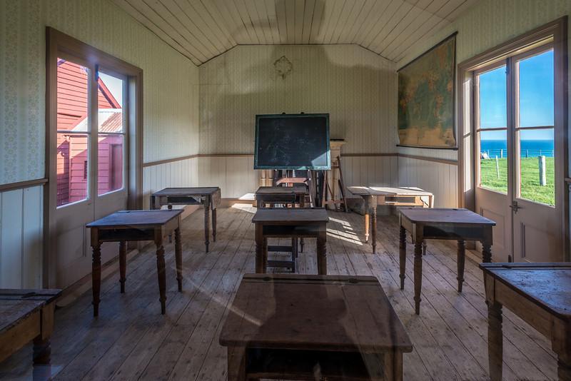 Matanaka farm buildings, Waikouaiti: the classroom