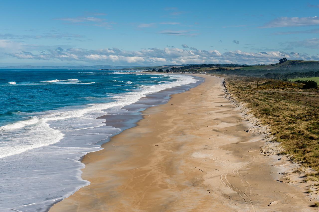 On Cooks Head, Chrystalls Beach