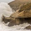 Tunnel Beach in a storm - 7b
