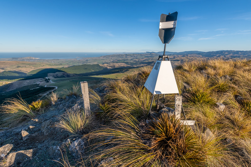 Mount Watkin / Hikaroroa summit trig