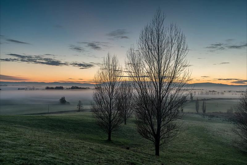 Time lapse video - sunrise over Berwick