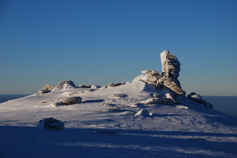 Rock and Pillar Summit Rocks