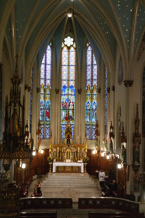 Inaugural Solemn High Mass at St. Joseph Oratory