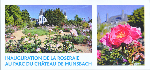 Inauguration Roseraie Chârteau Munsbach