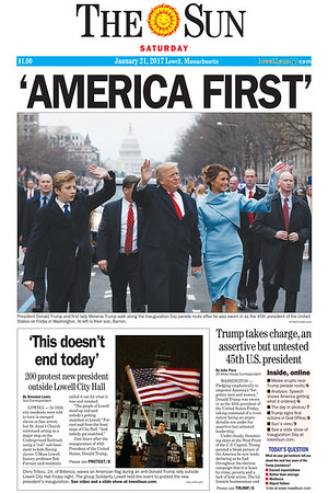 America First front page