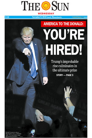 You're Hired front page