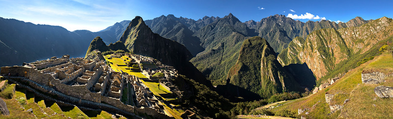 4679 Machu Picchu, panorama
