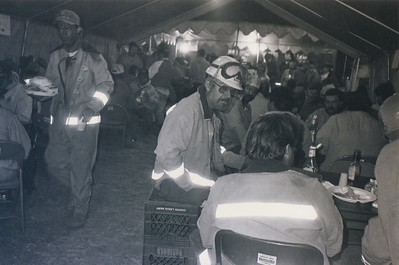 Mess tent - 1990s