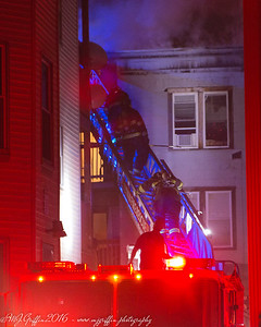 Second alarm building fire in Lynn, MA on Lowell St.